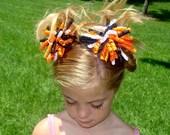 Orange, Black and White Halloween Korker Set