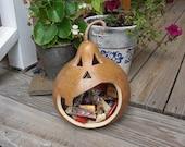 Gourd Jack-o-lantern