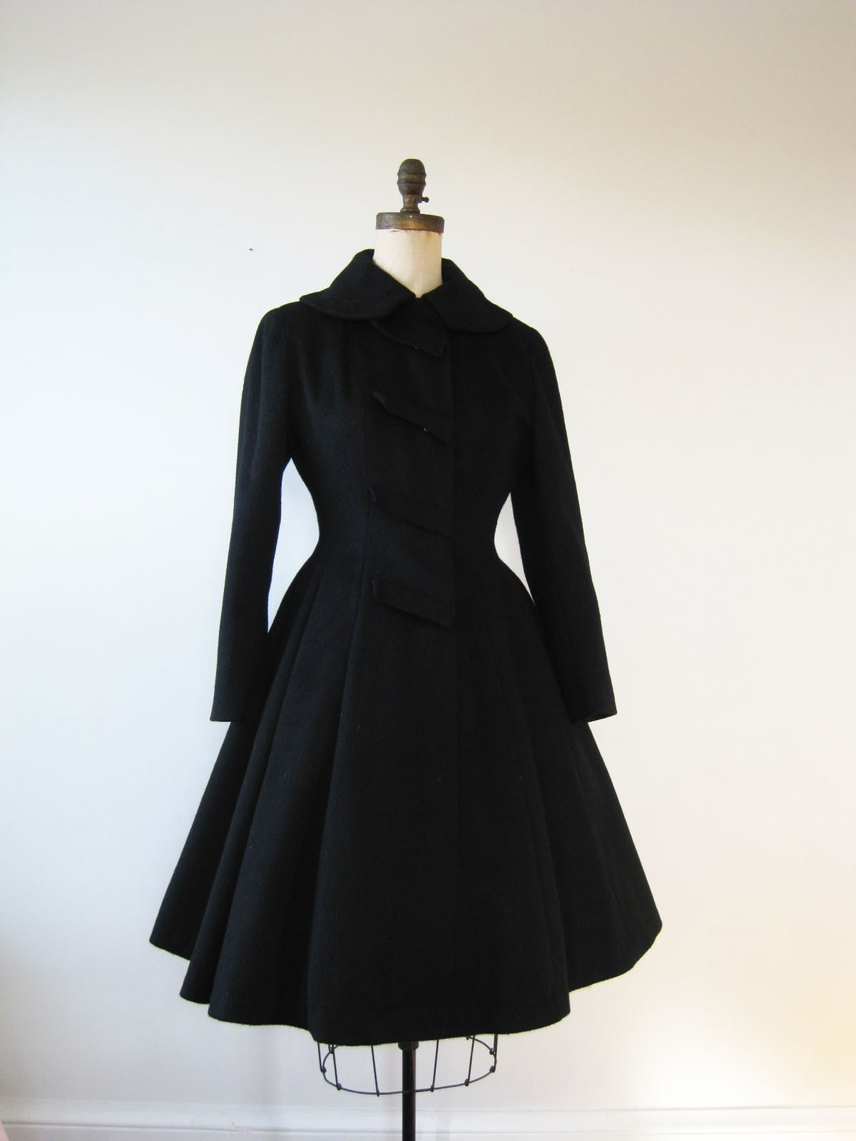 1950s Russian Princess Coat