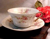 Vintage Haviland Theodore Limoges Cup and Saucer