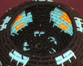Basket in Turquoise Night