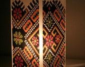 Ukrainian Embroidery Lamp