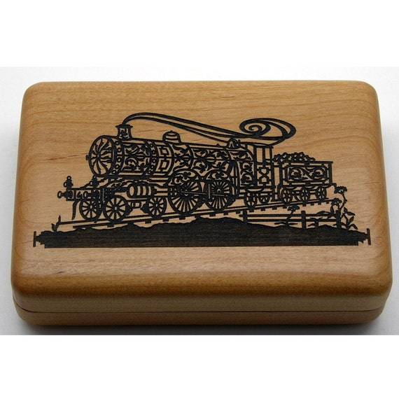 Cherry Scroll Train Box.
