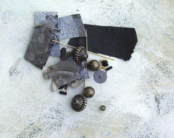 Earring Kit Black and Silver from Parts of Art