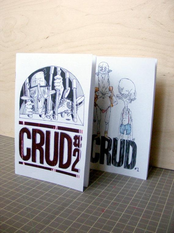 CRUD 1 & CRUD 2 - mini comics
