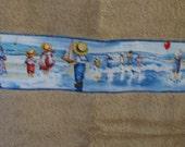 Personalized Hooded Towel -(Vintage Beach)