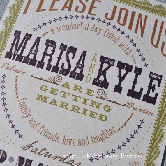 RESERVED FOR Winter, Wedding Invite Deposit