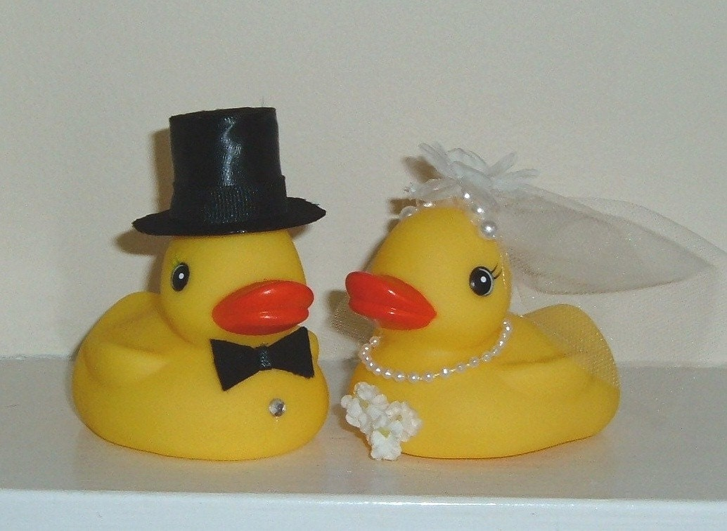 rubber duck wedding cake toppers etsy your place to buy and sell all things handmade 19439