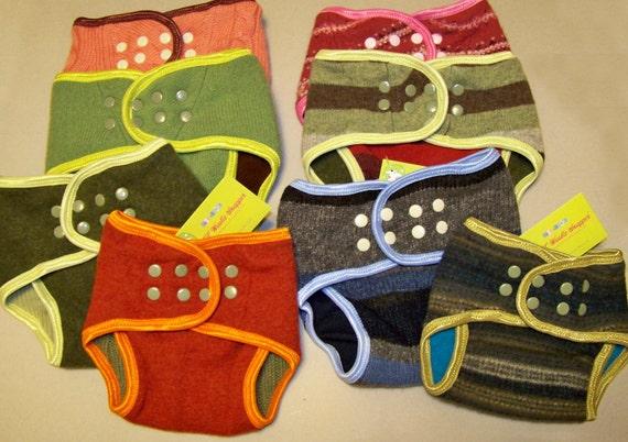 Wee Woolie Snapper diaper cover