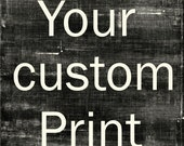 20x20 Gallery Wrap Custom Print