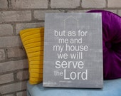 My House Modern - Joshua 24:15