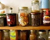 50% off Clearance, Spices and Jars- Postcard- Paris, food
