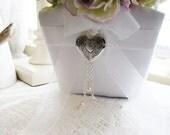 Flower Girl Basket Heart Locket, Wedding Supplies