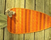 Quilted Carrot Table Runner