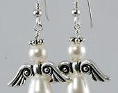 Angel Earrings - Choose Color