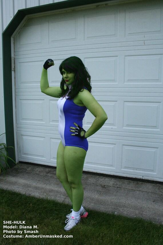 hulk costume for women