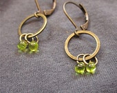Citrus Drop dangle earrings