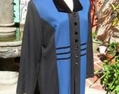 Vintage Neo Edwardian Frock Coat in Larger Size