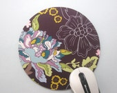 Buy 2 FREE SHIPPING Special!!   Mouse Pad, Computer Mouse Pad, Round Fabric Mousepad or Trivet    Twilight Pond
