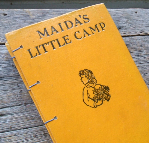 Repurposed Blank Journal Maida's Little Camp Vintage Book