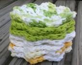 USA Grown Cotton Face Scrubbies