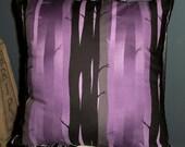 Gothic Tree 16x16 Throw Pillow