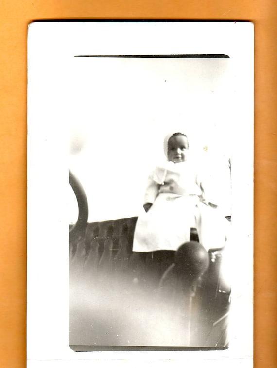 Real Photo Vintage Postcard  Baby  Photo