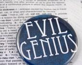 Evil Genius Pinback Button