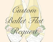 Request Your Custom Couture Ruffle Marie Antoinette Flats
