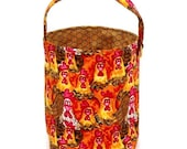 Stitched by JessaLu Bucket Bag - Chickens