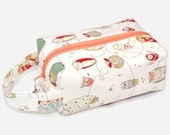 Stitched by JessaLu Box Bag - Owls