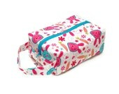 Stitched by JessaLu Box Bag - Cute Bunnies