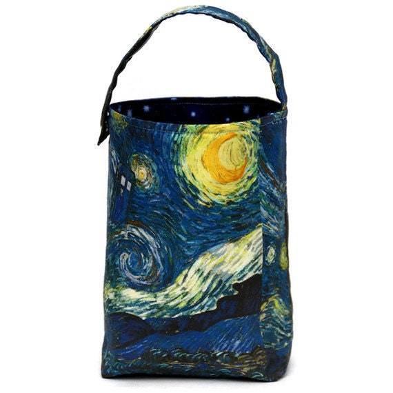 SbJL Bucket Bag - Doctor Who Starry Starry Tardis