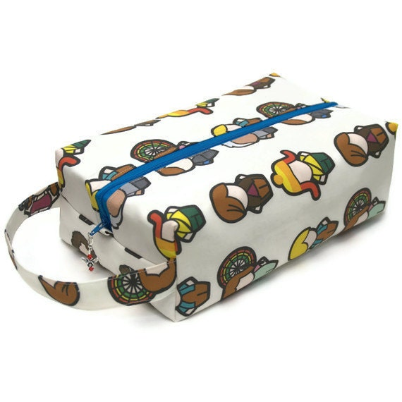 Large Project Bag Boxy Knitting Bag - Firefly Characters