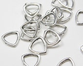 30pcs Oxidized Silver Tone Base Metal Spacers-15mm (5147Y-E-217A)