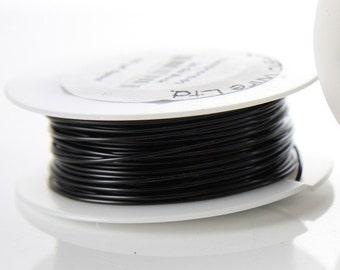 Artistic Wire 20 Gauge Lead/Nickel Safe-Black 15Yard
