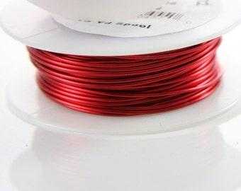 Artistic Wire 20 Gauge Lead/Nickel Safe-Red 15Yard