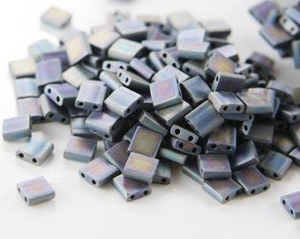 10 Grams Japanese Miyuki Tila Beads-Flat Square 5x5x1.9mm (TL401FR)