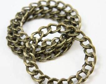 4pcs Antique Brass Tone Base Metal Rings-49mm (3355X-F-106B)