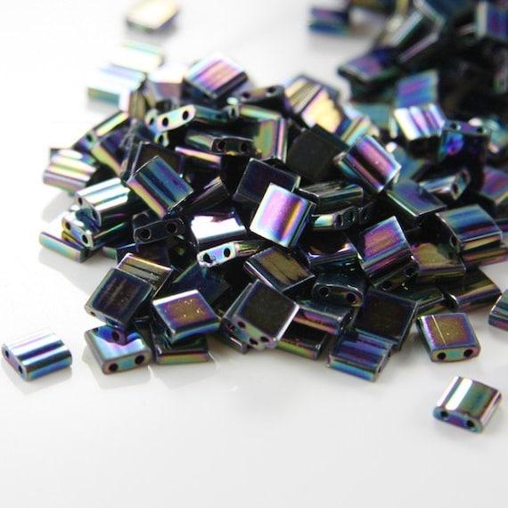10 Grams Japanese Miyuki Tila Beads-Flat Square 5x5x1.9mm (TL455)