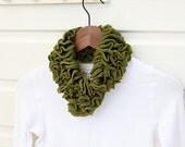 Ruffle Neck Cozy - PDF Knitting pattern