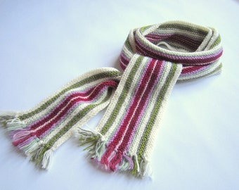 Hand Knit Colour Therapy Scarf