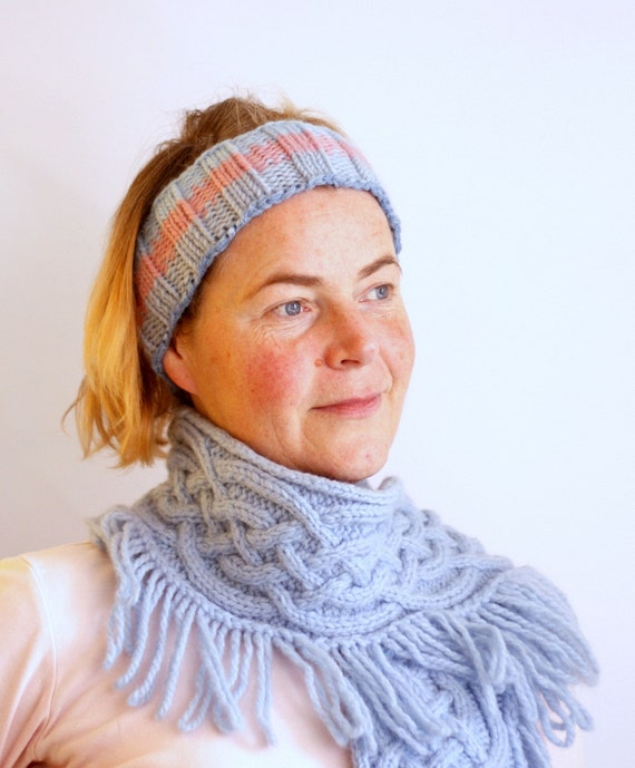 SALE Hand Knit Head Band