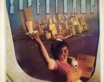 "Vintage SUPERTRAMP ""Breakfast in America"" Iron On T Shirt Transfer"
