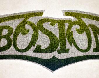 Vintage BOSTON the band t shirt transfer iron ons