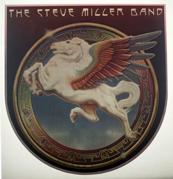 Vintage STEVE MILLER BAND Book of Dreams Iron On Transfer
