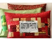 Trio of Custom Photo Pillows \/ RESERVE