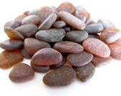 Bulk Sea Glass - 50 Loose Sea Glass - Beach Glass - Brown Sea Glass