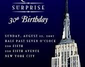 Empire Event - Birthday Party Invitation