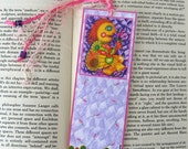 LUCY THE REDHEADED WOMAN AND GREEN EYED LADY BOOKMARK